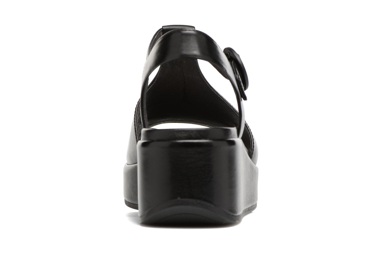 Sandales et nu-pieds Camper Misia 5 Noir vue droite