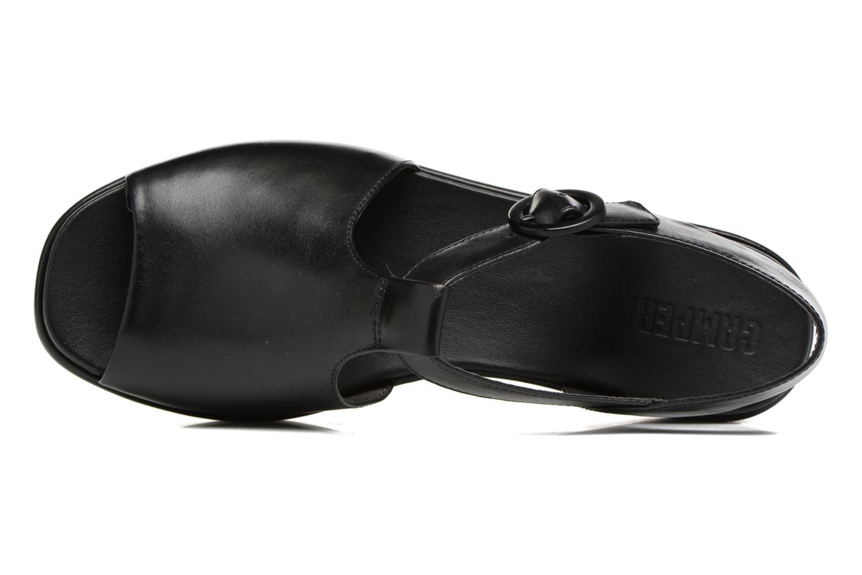 Sandales et nu-pieds Camper Misia 5 Noir vue gauche