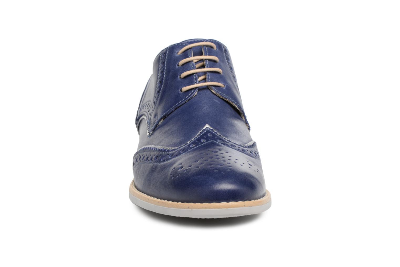 Chaussures à lacets Georgia Rose Nissa Bleu vue portées chaussures