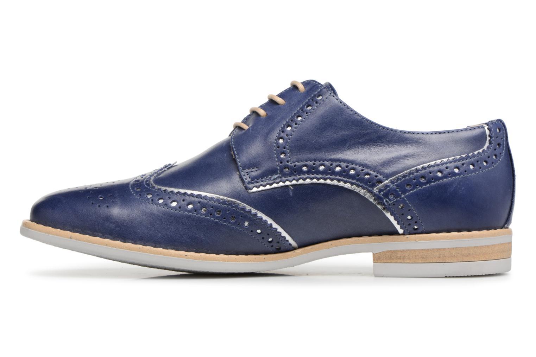 Chaussures à lacets Georgia Rose Nissa Bleu vue face