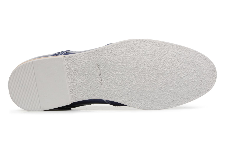Chaussures à lacets Georgia Rose Nissa Bleu vue haut