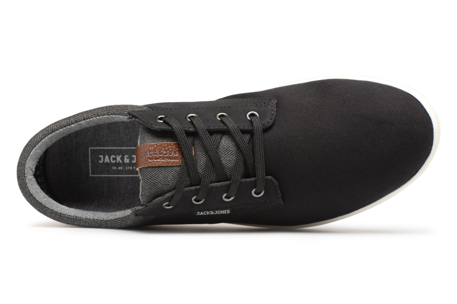 Baskets Jack & Jones JFW Gaston Canvas Mix Noir vue gauche