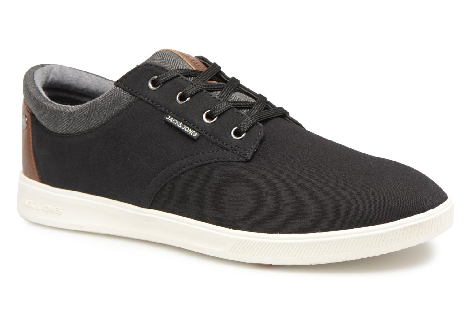 Baskets Jack & Jones JFW Gaston Canvas Mix Noir vue détail/paire