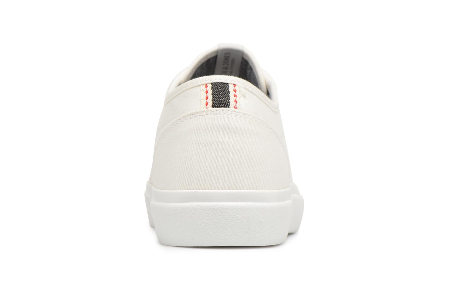 Trainers Jack & Jones JFW Austin Canvas White view from the right