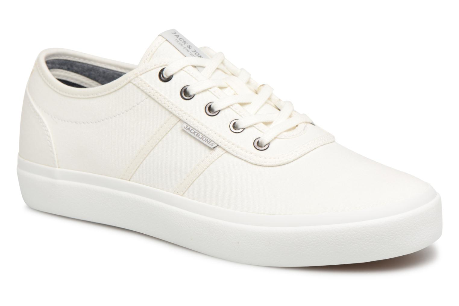 Trainers Jack & Jones JFW Austin Canvas White detailed view/ Pair view