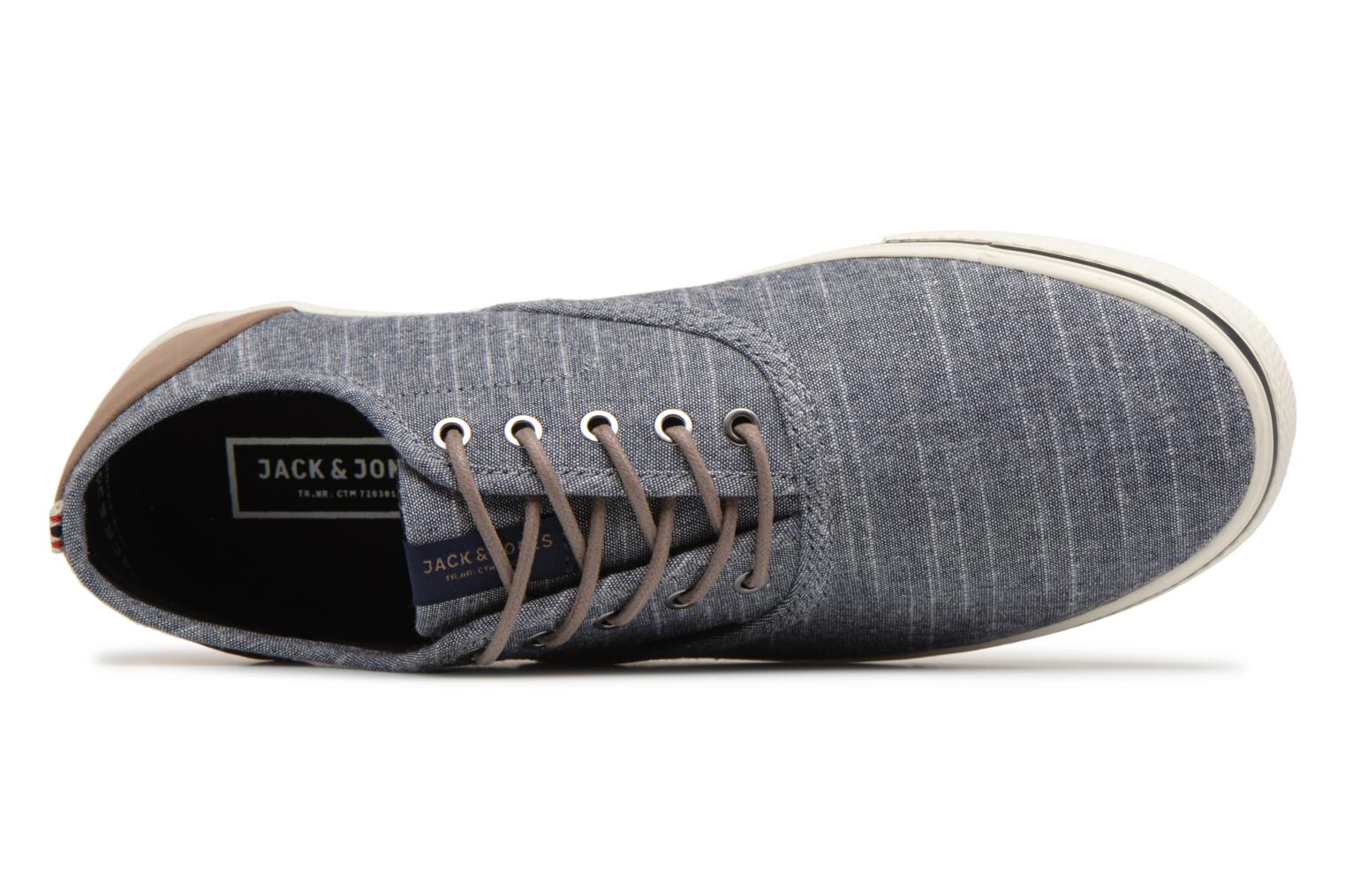 Trainers Jack & Jones JFW Heath Chambray Blue view from the left