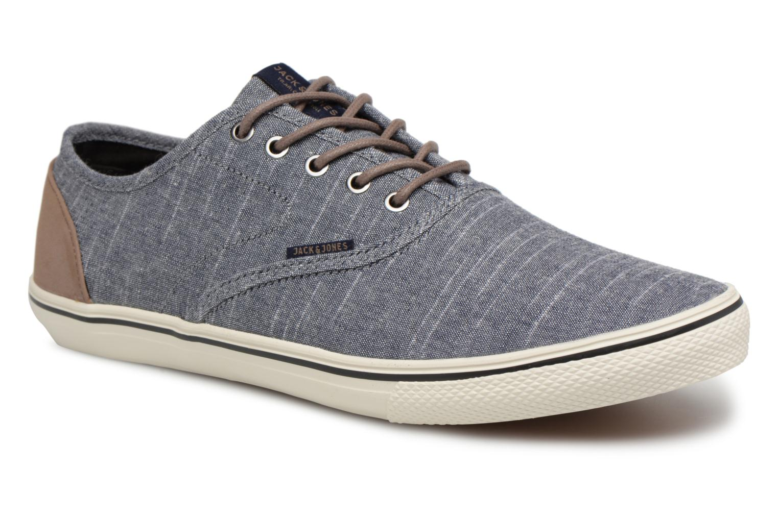 Marques Chaussure homme Jack & Jones homme JFW Gaston Pu Combo Anthracite