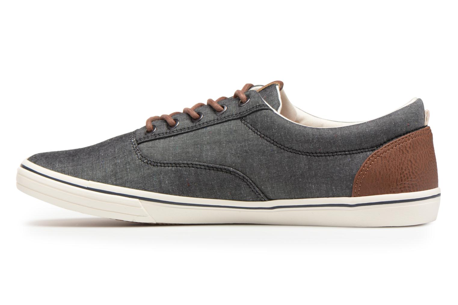 ... Anthracite Jack & Jones JFW Vision Chambray Mix SS (Gris) ...