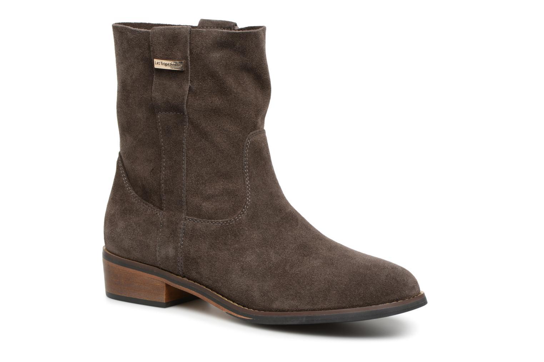 Bottines et boots Les Tropéziennes par M Belarbi Curcuma Gris vue détail/paire