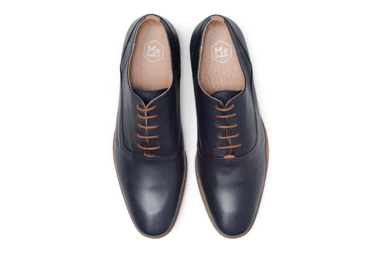 Chaussures à lacets Mr SARENZA Smary Bleu vue portées chaussures