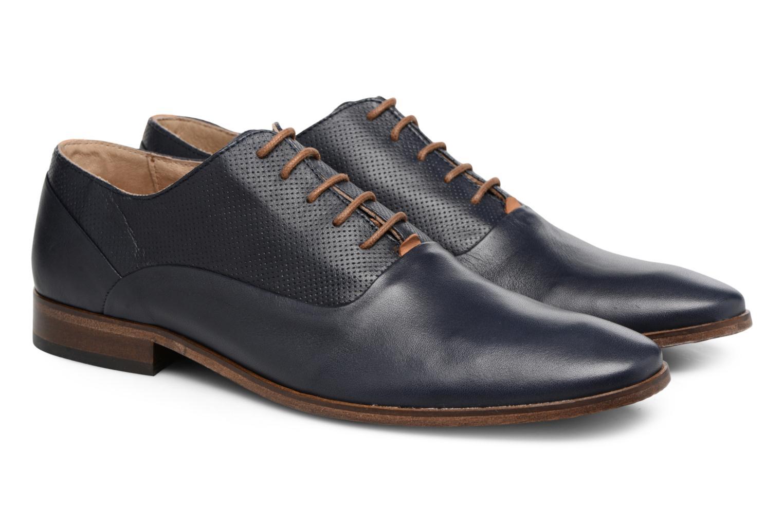 Chaussures à lacets Mr SARENZA Smary Bleu vue derrière