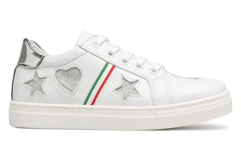 Sneakers Melania Armanda Wit achterkant