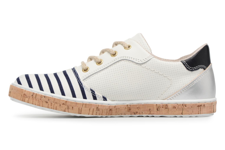 Sneakers Bullboxer PAULA Wit voorkant