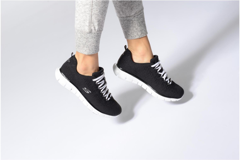 Zapatos promocionales Skechers Synergy-Safe & Sound (Negro) - Deportivas   Casual salvaje