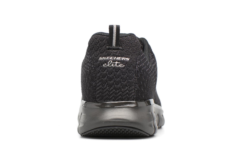 Black/white Skechers Synergy-Safe & Sound (Noir)