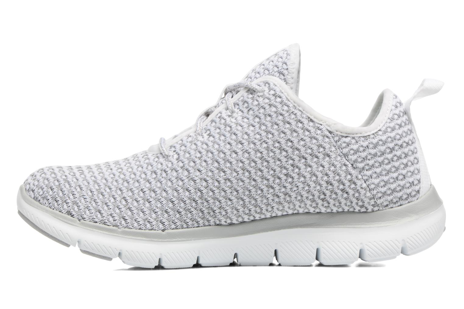 Sport shoes Skechers Flex Appeal 2.0-Bold Move Grey front view