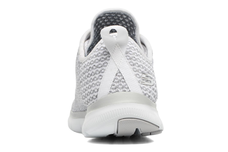 Chaussures de sport Skechers Flex Appeal 2.0-Bold Move Gris vue droite