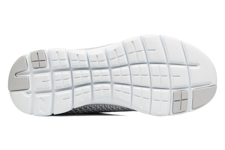 Chaussures de sport Skechers Flex Appeal 2.0-Bold Move Gris vue haut