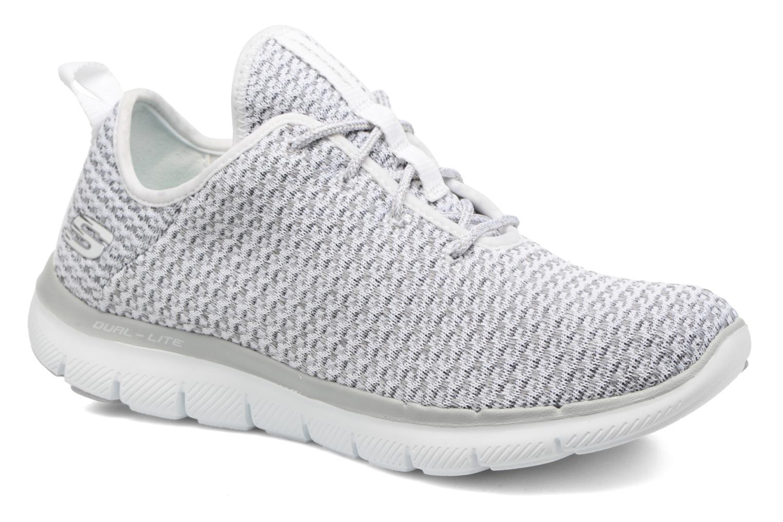 Chaussures de sport Skechers Flex Appeal 2.0-Bold Move Gris vue détail/paire