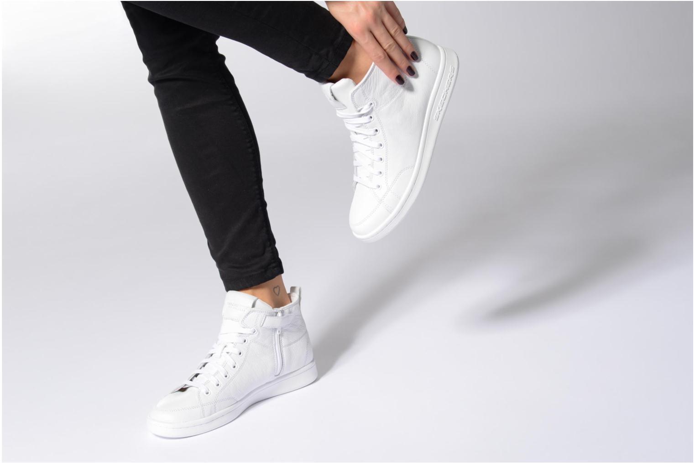 White Skechers Omne-Midtown (Blanc)
