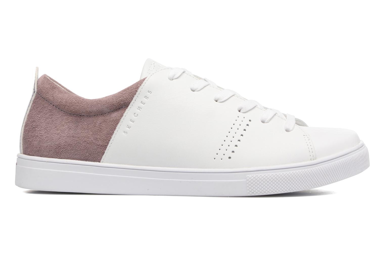 White/P Skechers Moda-Clean Street (Blanc)