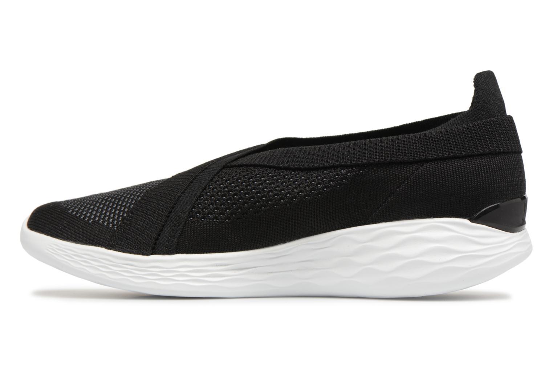 Sneakers Skechers You-Luxe Svart bild från framsidan