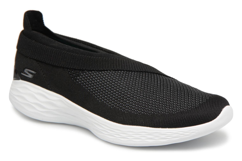 Sneakers Skechers You-Luxe Sort detaljeret billede af skoene