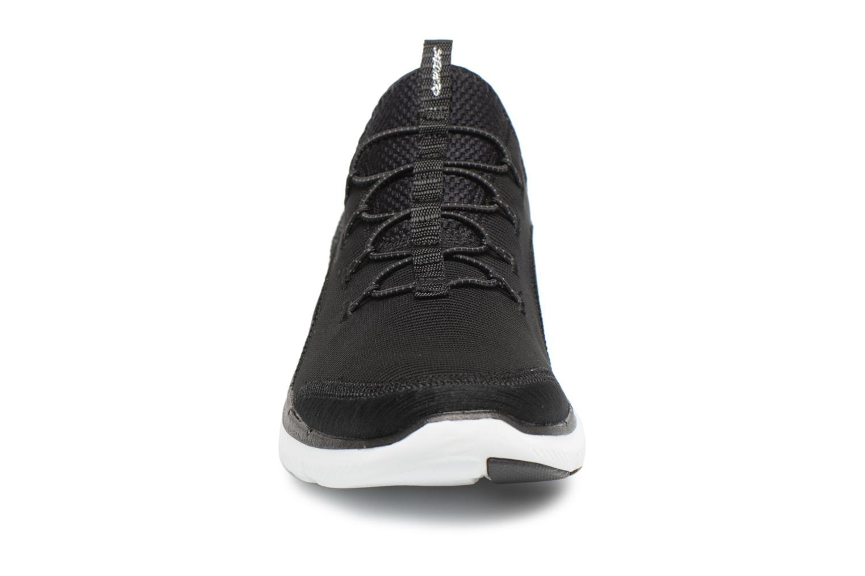 Sportskor Skechers Flex Appeal 2.0-Mixed Media Svart bild av skorna på