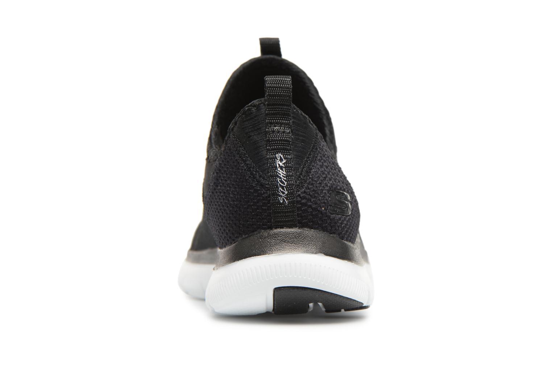 Chaussures de sport Skechers Flex Appeal 2.0-Mixed Media Noir vue droite
