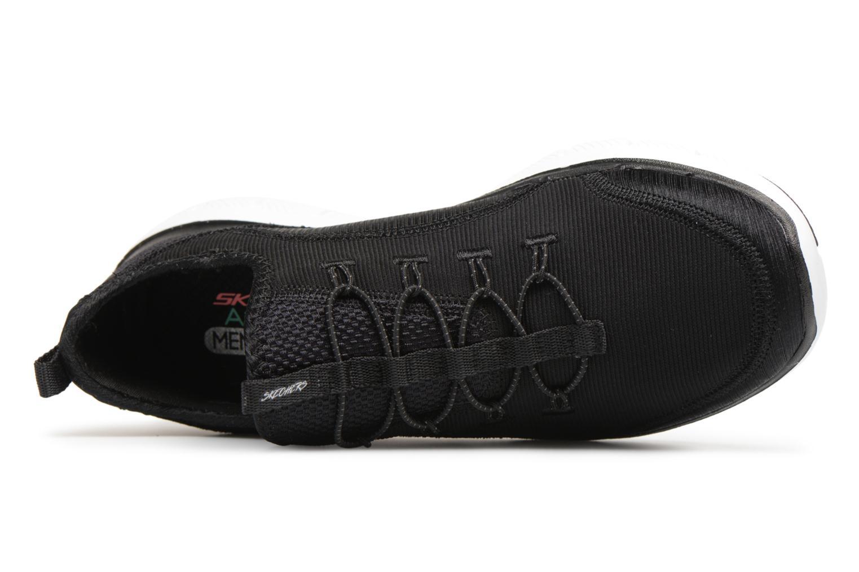 Chaussures de sport Skechers Flex Appeal 2.0-Mixed Media Noir vue gauche