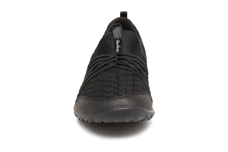 Baskets Skechers Empress-Wide-Awake Noir vue portées chaussures