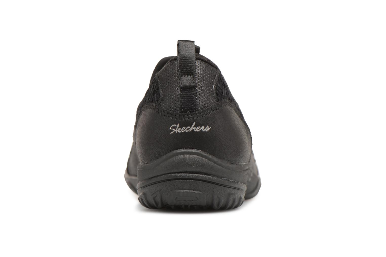 Baskets Skechers Empress-Wide-Awake Noir vue droite