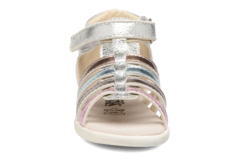 Sandales et nu-pieds Bopy Nifaty Kouki Argent vue portées chaussures