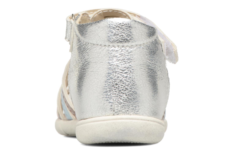 Sandales et nu-pieds Bopy Nifaty Kouki Argent vue droite