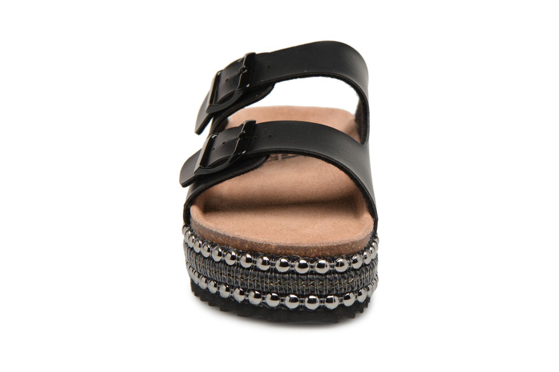 Mules et sabots Xti Horesy Noir vue portées chaussures