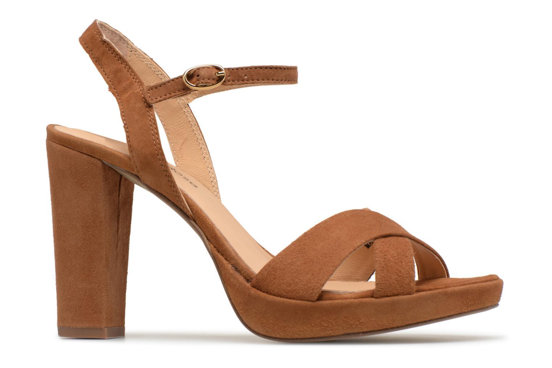 Sandales et nu-pieds Georgia Rose Lypatou Marron vue derrière