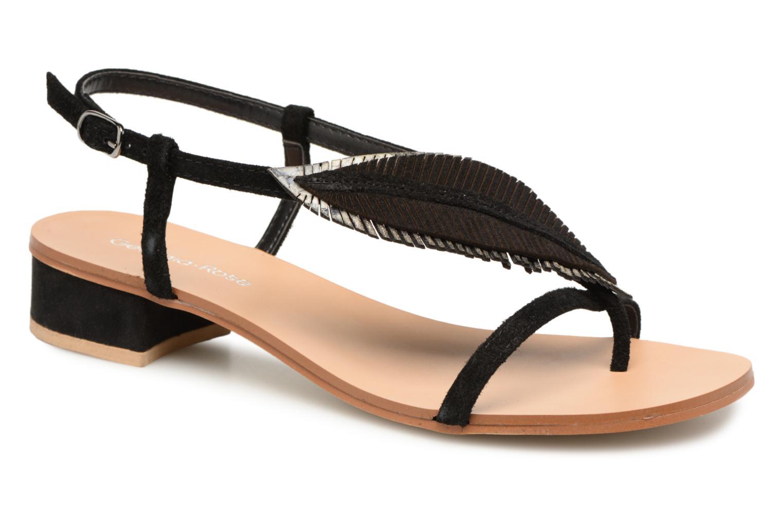 Zapatos promocionales Georgia Rose Mifeuilla (Negro) - Sandalias   Los zapatos más populares para hombres y mujeres