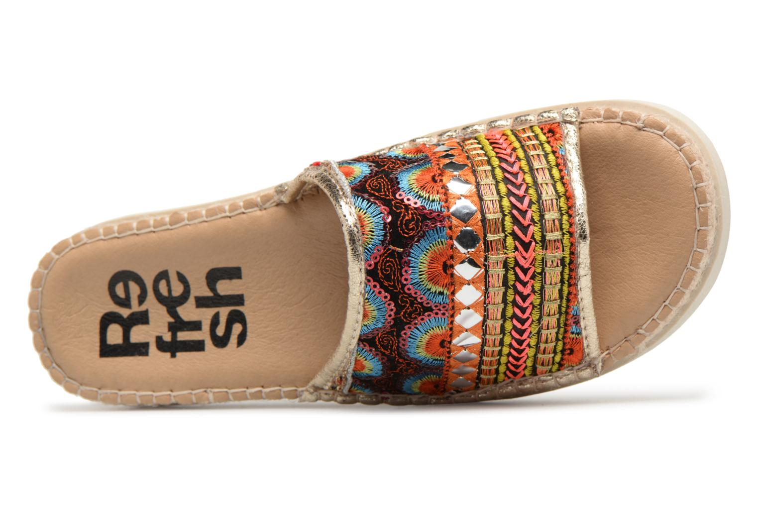 Mules & clogs Refresh Fuva Multicolor view from the left