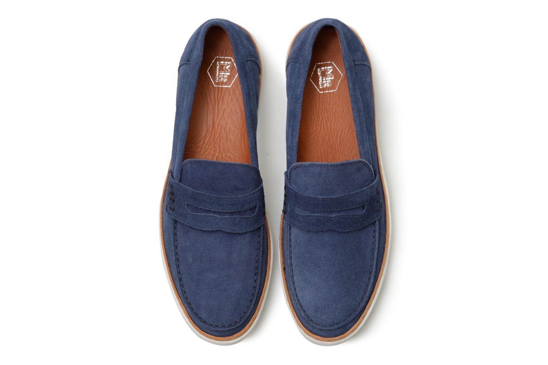 Mocassins Mr SARENZA Townstreet Bleu vue portées chaussures