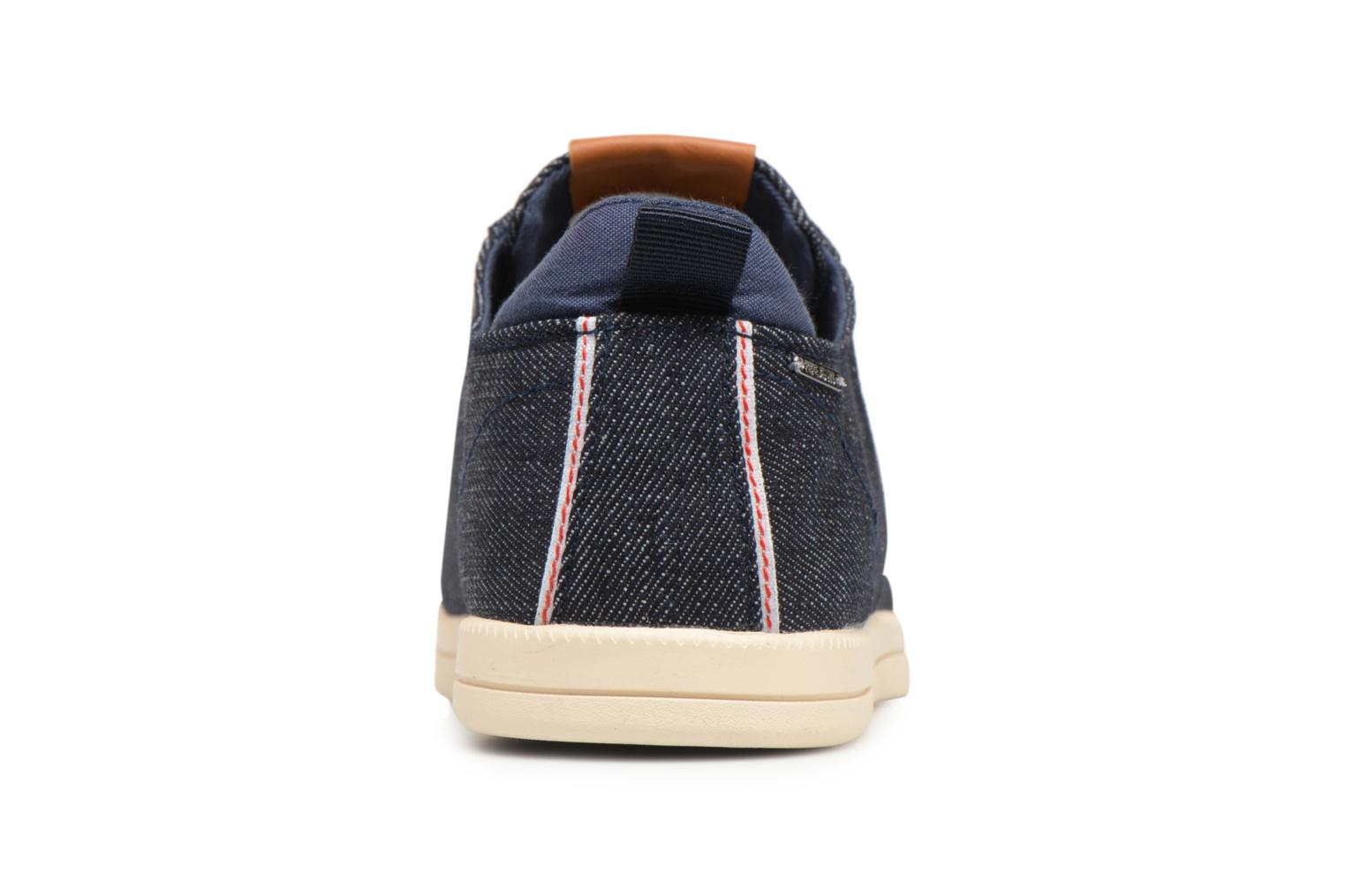 Sneakers Pepe jeans Bolton Denim Blauw rechts