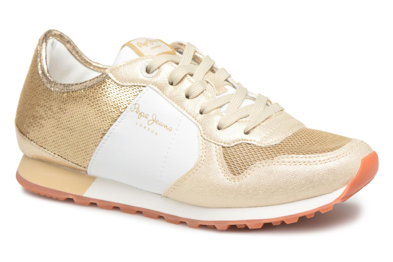 Grandes descuentos últimos zapatos Pepe jeans Verona W Sequins (Oro y bronce) - Deportivas Descuento