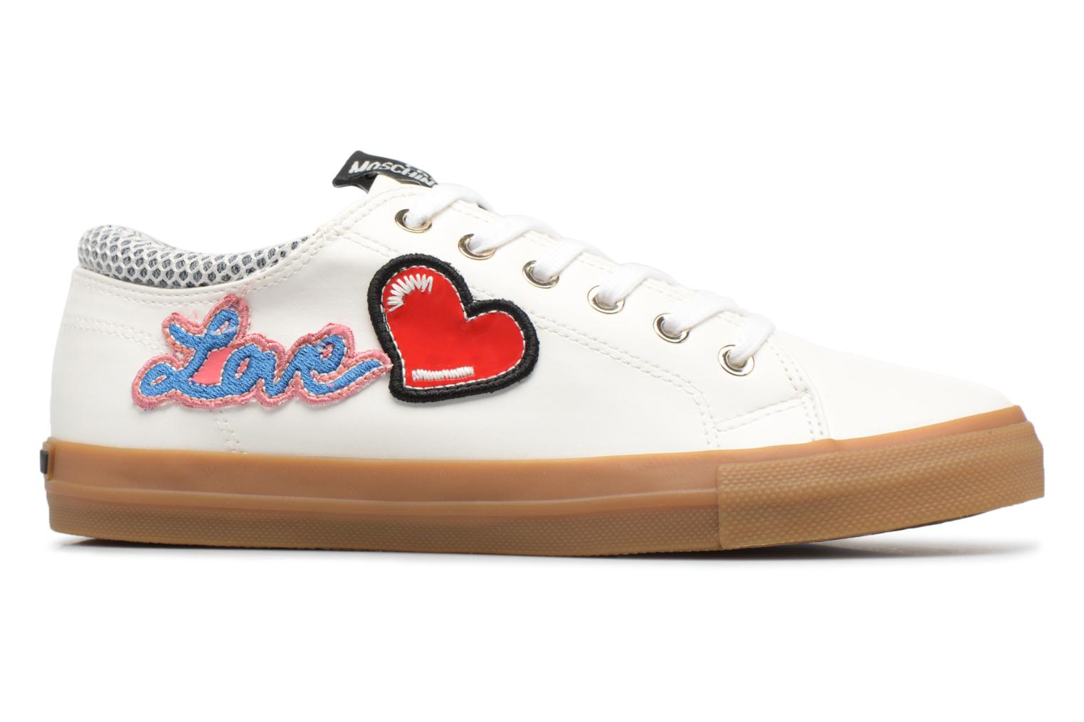 Love Moschino Funny Patches JA15213G15 Blanc hz6Oo1Yr