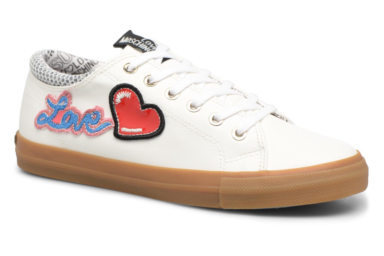 Los últimos zapatos de hombre y mujer Love Moschino Funny Patches JA15213G15 (Blanco) - Deportivas en Más cómodo