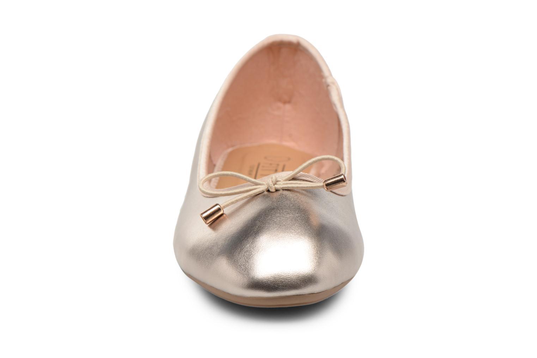 Ballerines I Love Shoes FIBAL Size + Or et bronze vue portées chaussures