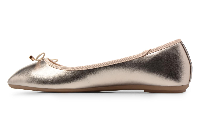 Ballerines I Love Shoes FIBAL Size + Or et bronze vue face