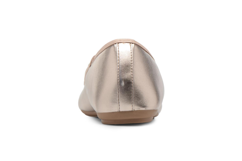 Ballerines I Love Shoes FIBAL Size + Or et bronze vue droite