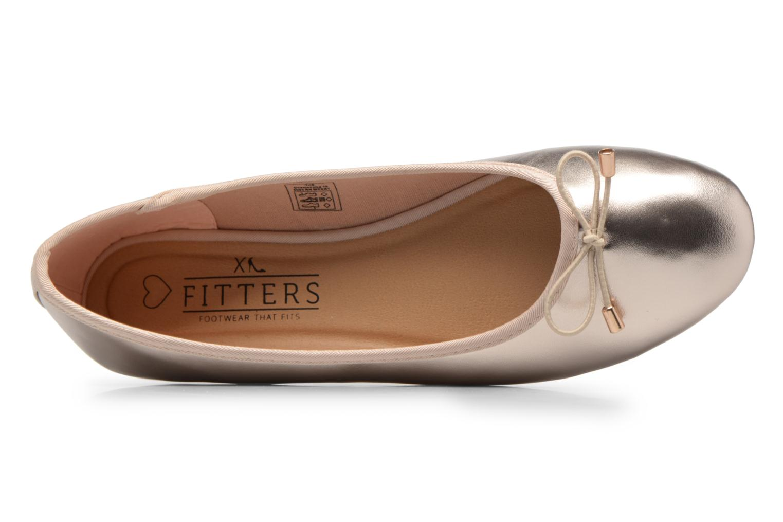 Ballerines I Love Shoes FIBAL Size + Or et bronze vue gauche
