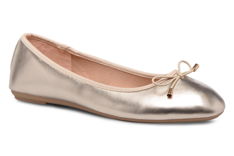 Ballerines I Love Shoes FIBAL Size + Or et bronze vue détail/paire