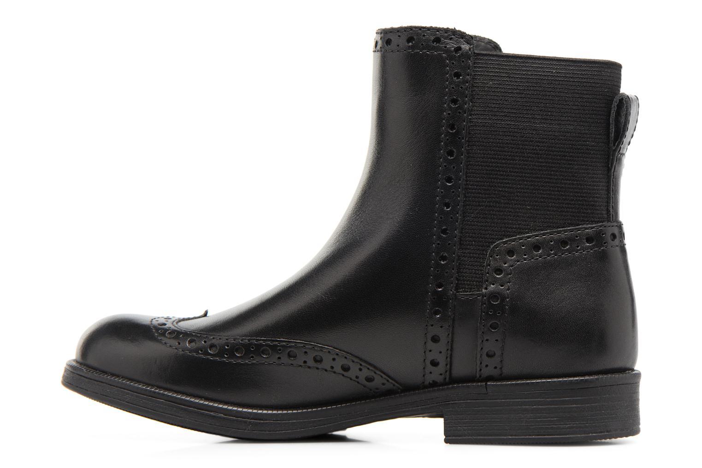 Boots en enkellaarsjes Geox JR Agata A J6449A Zwart voorkant