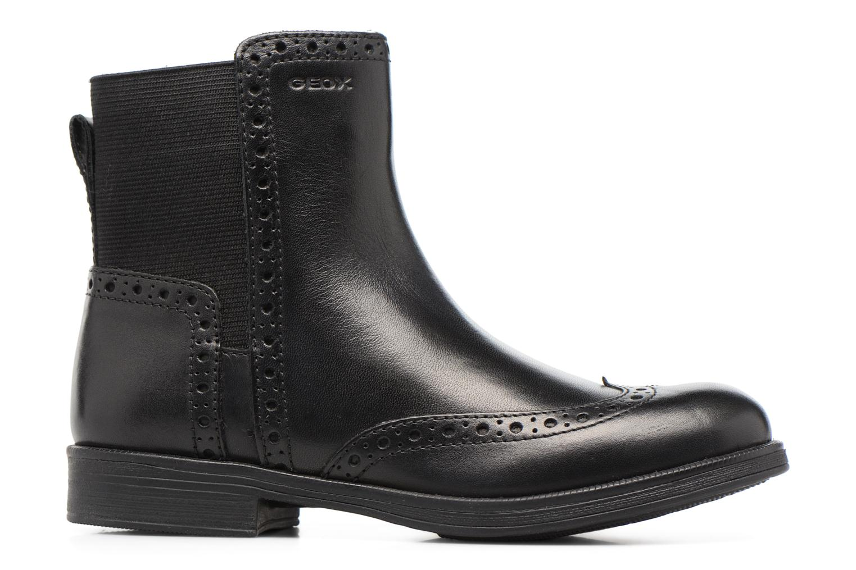 Boots en enkellaarsjes Geox JR Agata A J6449A Zwart achterkant